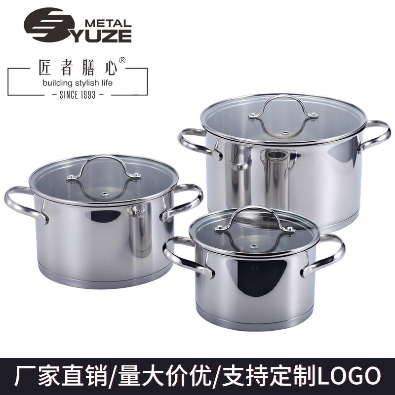 不锈钢汤锅质量好、导热快、不粘底的锅具选哪个?