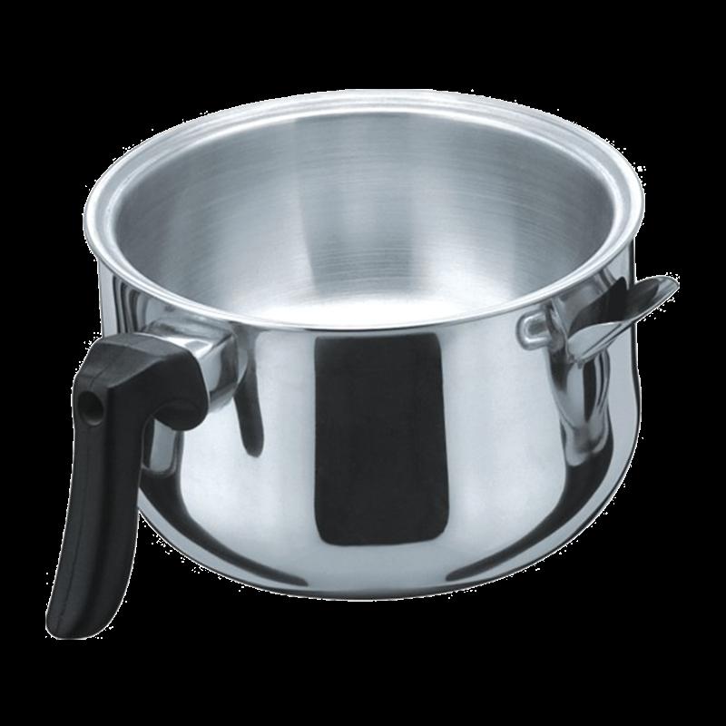 不锈钢双层奶锅
