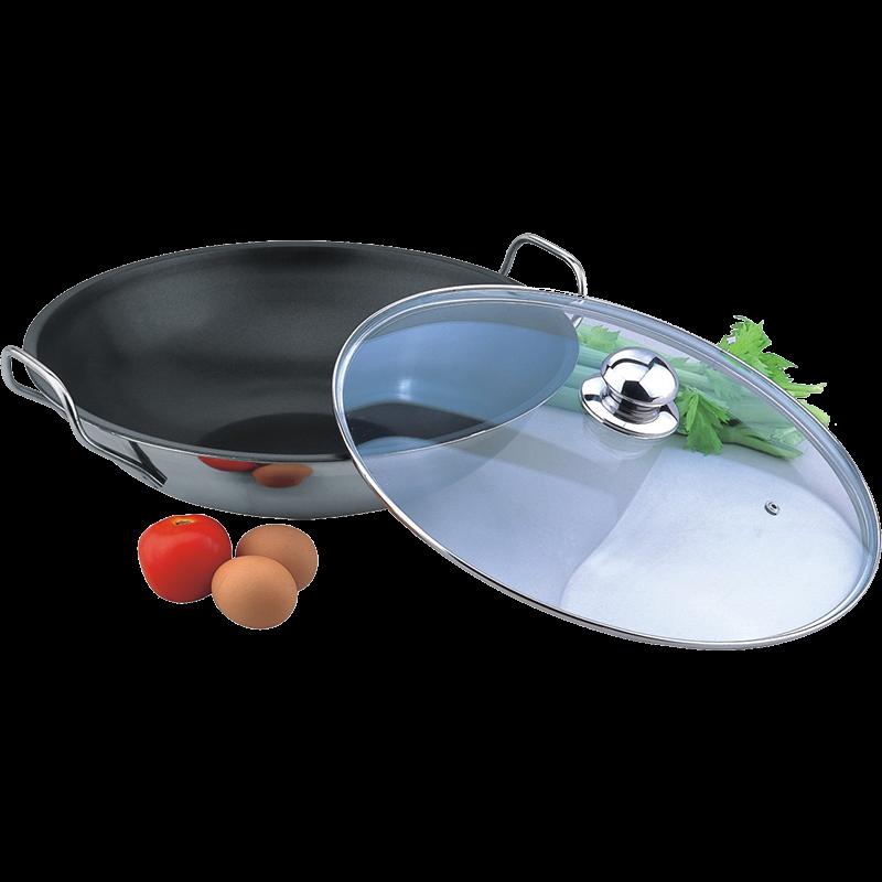 不锈钢中式炒锅